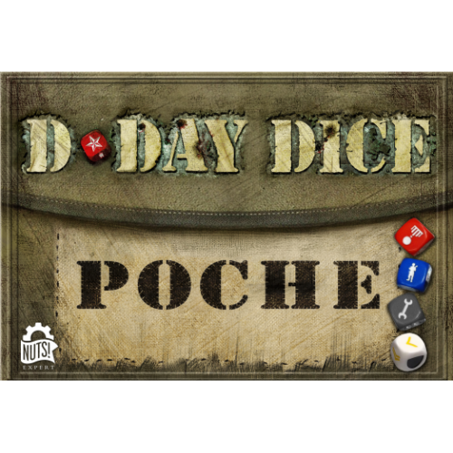 • D-Day Dice : Poche - FRENCH VERSION